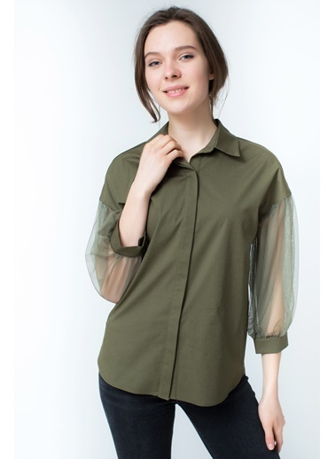 Clıche Gömlek Haki